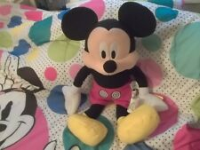 """DISNEY MICKEY MOUSE CUDDLE PILLOW~17"""" TALL NEW WITH TAGS"""