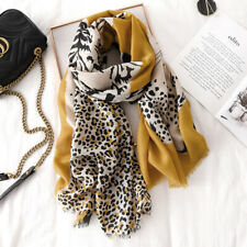 ScarfPro Leopard Design Viscose Printed Luxury Scarf Shawl and Wrap