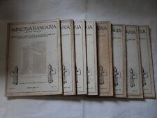MINERVA BANCARIA 8 FASCICOLI ANNO IV 1931