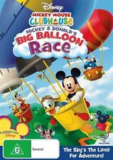 Mickey Mouse & Donald Clubhouse BIG BALLOON RACE : NEW DVD
