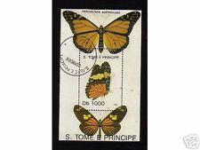 0489++S.TOME E PRINCIPE  PAPILLONS  N°3