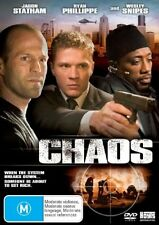 New and Sealed~CHAOS~Dvd - Jason Stratham Wesley Snipes Ryan Phillippe Region 4