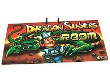 'DRAGON SLAYERS ROOM' PVC Sign - Wall/Door/Bedroom