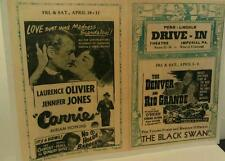 1950 Imperial Pa.Pittsburgh Penn-Lincoln Drive-In Movie Theatre Rts 22-30 Poster