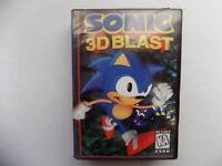 SONIC 3D BLAST Sega Genesis Mega Drive.+