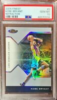 2004 Topps Finest Refractor Kobe Bryant Card #8 #111/249 PSA 10 Gem Mint