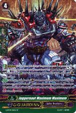 1x Cardfight!! Vanguard Juggernaut Maximum Maximum - G-BT09/S11EN - SP Near Mint
