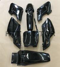7 PCs Black Plastic Fairing Body Cover Kits For Baja Dirt Runner 125