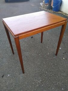 Mid century modern Teak End Table