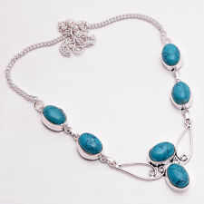 925 Sterling Silver Overlay Necklace, Handmade Gemstone Designer Jewelry PN759