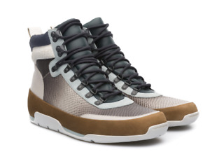 Men's CAMPER ENDURO K300020-002 Ankle Boot, Brown, White & Blue, UK8/EU42, £200
