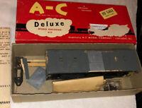 HO Vintage A-C Ho Wood Tool Engineer Car W Varney Trucks As Found Kit