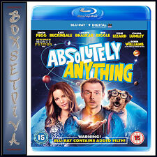 ABSOLUTELY ANYTHING - Simon Pegg  *BRAND NEW BLU-RAY***