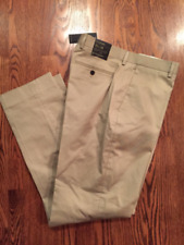 NWT Mens Banana Republic Tan Khaki Dress pants Standard straight 33/34 NEW