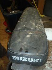 SUZUKI TS 125 1971  Seat saddle