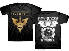 Overkill-Wrecking Crew-Mask-2014 Tour-Small Black  T-shirt