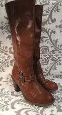 MIA TALL BROWN Molly PULL ON RIDING BOOTS LADIES 7 M #390