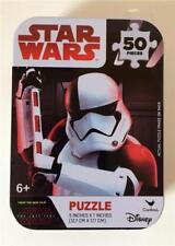 "Star Wars Storm Trooper Disney Jigsaw Puzzle 50 piece 5"" x 7"" New Unopened NIB"