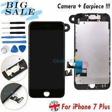 For iPhone 7 Plus Display LCD Touch Screen Digitizer Assembly + Camera Black UK