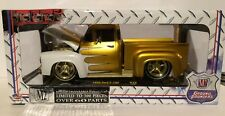 M2 Machines 1/24 Ground Pounders 1956 Ford F-100 1/300 Chase Gold R38 Truck