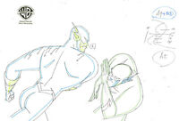 Warner Brothers Animated Series Original Production Drawing The Flash