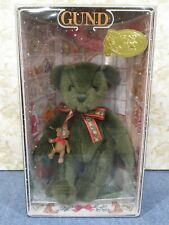 Gund Yulebeary Teddy Bear #8898 Christmas Collectible 1998 w/Ornament Bear - New