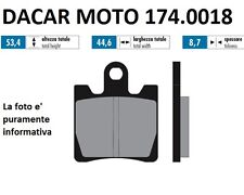 174.0018 PLAQUETTE DE FREIN ORIGINAL POLINI SYM : GTS-RV 250