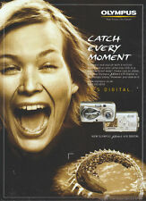 "Olympus 410 Digital ""Catch Every Moment"" Camera 2004 Magazine Advert #2453"