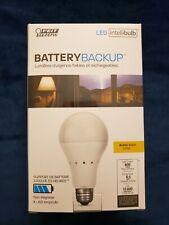 Feit Battery Backup Emergency LED Soft White Light Bulb - Up to 3.5 Hours