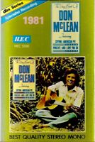 Don McLean .. The Very Best Of.. Import Cassette Tape