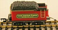 NEW BRIGHT G, GREAT AMERICAN EXPRESS, DENVER R.R G.A.E., TENDER, C-8, -dj