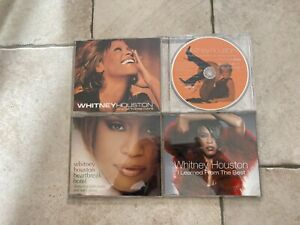 Whitney Houston _ Lotto 4 X CD PROMO RADIO RARE
