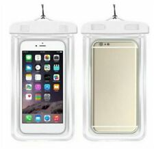 Glow In The Dark Water Proof Case - WHITE