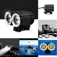 Bright 4000LM 2 X X XM-L T6 LED USB Wasserdichte Lampe Fahrrad Scheinwerfer