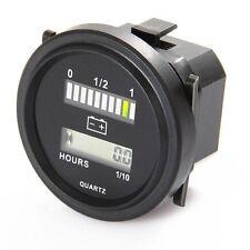 Acide-plomb capacité de la batterie indicateur moteur hour meter 12V 24V 36V 48V 72V IP65