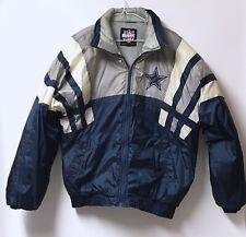 DALLAS COWBOY'S Football Size Medium Vintage 90s Logo GameDay Puffer Jacket