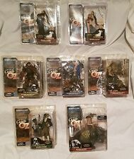 McFARLANE TOYS SPAWN TWISTED LAND OF OZ  SET OF 7 FIGURES...NEW ON CARDS!