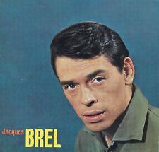PHOTOGRAPHIE ORIGINALE sur encart glacé du chanteur Jacques Brel Philips