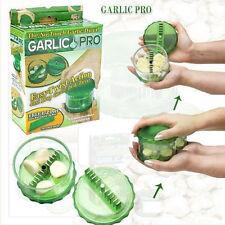Kitchen No-Touch Garlic Dicer Pro Peeler Slicer Easy Twist Stripper + E-Z Peel