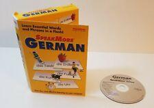 SpeakMore German PC CD-Rom Windows Language Education Software