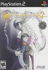 Shin Megami Tensei: Digital Devil Saga 2 [PlayStation 2 PS2, NTSC, Atlus JRPG]