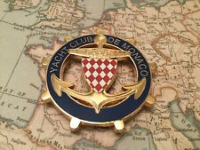 MONTE CARLO YACHT CLUB DE MONACO CAR GRILLE BADGE 1