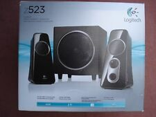 Logitech Z523 40 Watts 2.1 Speaker System w/Subwoofer for Game Console/Brand NEW