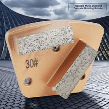 Grit 30 Trapezoid Diamond Concrete Grinding Disc Pad Grinder 2 Straight Teeth BT