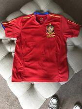 España Camiseta De Fútbol 2010 Sudáfrica-Tamaño Pequeño-Muy Buen Estado!!!