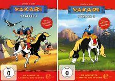 6 DVDs * YAKARI - STAFFEL BOX 1 + 2 ( FOLGE 1 - 78 ) IM SET # NEU OVP &