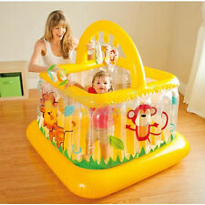 Intex Inflatable Soft Sides Lil Baby Gym Play Centre Jumping Bouncer Trampoline