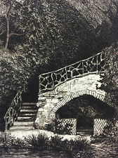 Source des eaux  minérales Mayenne Château-Gontier 1872 A. Tancrède