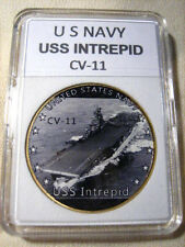 US NAVY - USS INTREPID CV-11 Challenge Coin