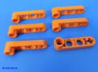 LEGO TECHNIC NR- 6170368/1x2 piatto CROCE +FORATI +Connettore Arancione / 6